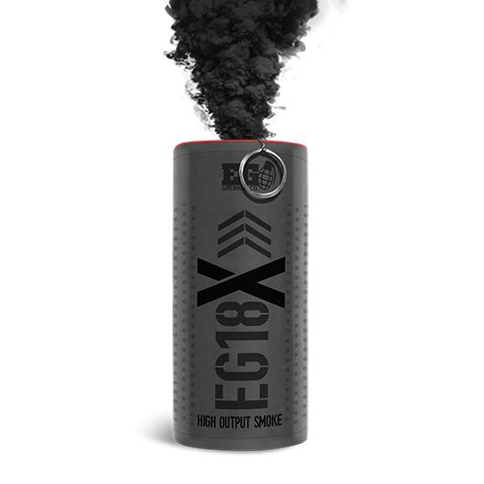 EG18X Black Smoke Grenade