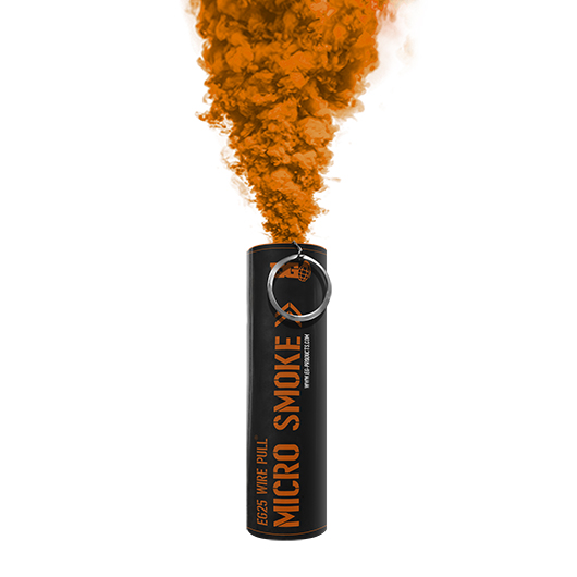 EG25 Orange Smoke Grenade