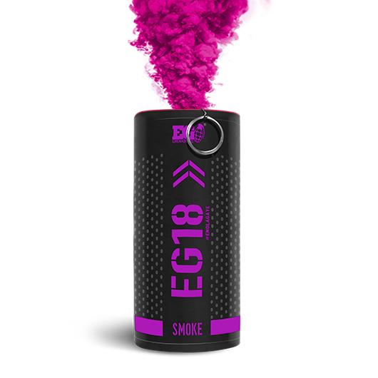 EG18 Pink Smoke Grenade