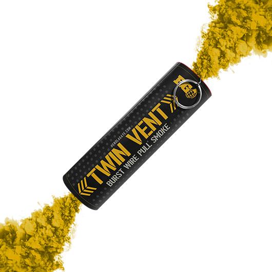 Yellow Twin Vent Smoke Bomb